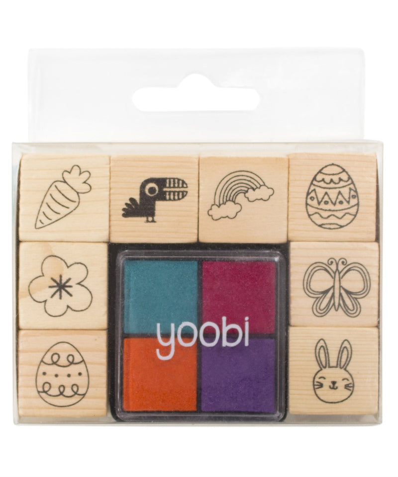 Stamp Set, 8 Pack - Multicolor