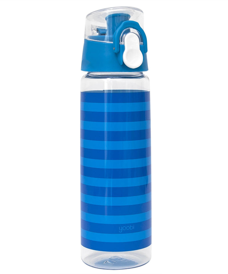 Water Bottle - Blue Stripe