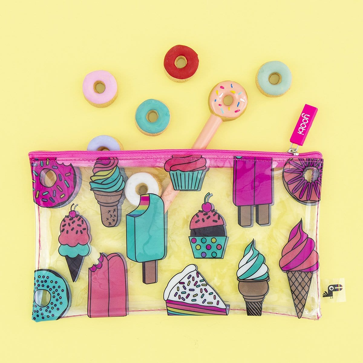 Zip Pouch - Sweet Treats
