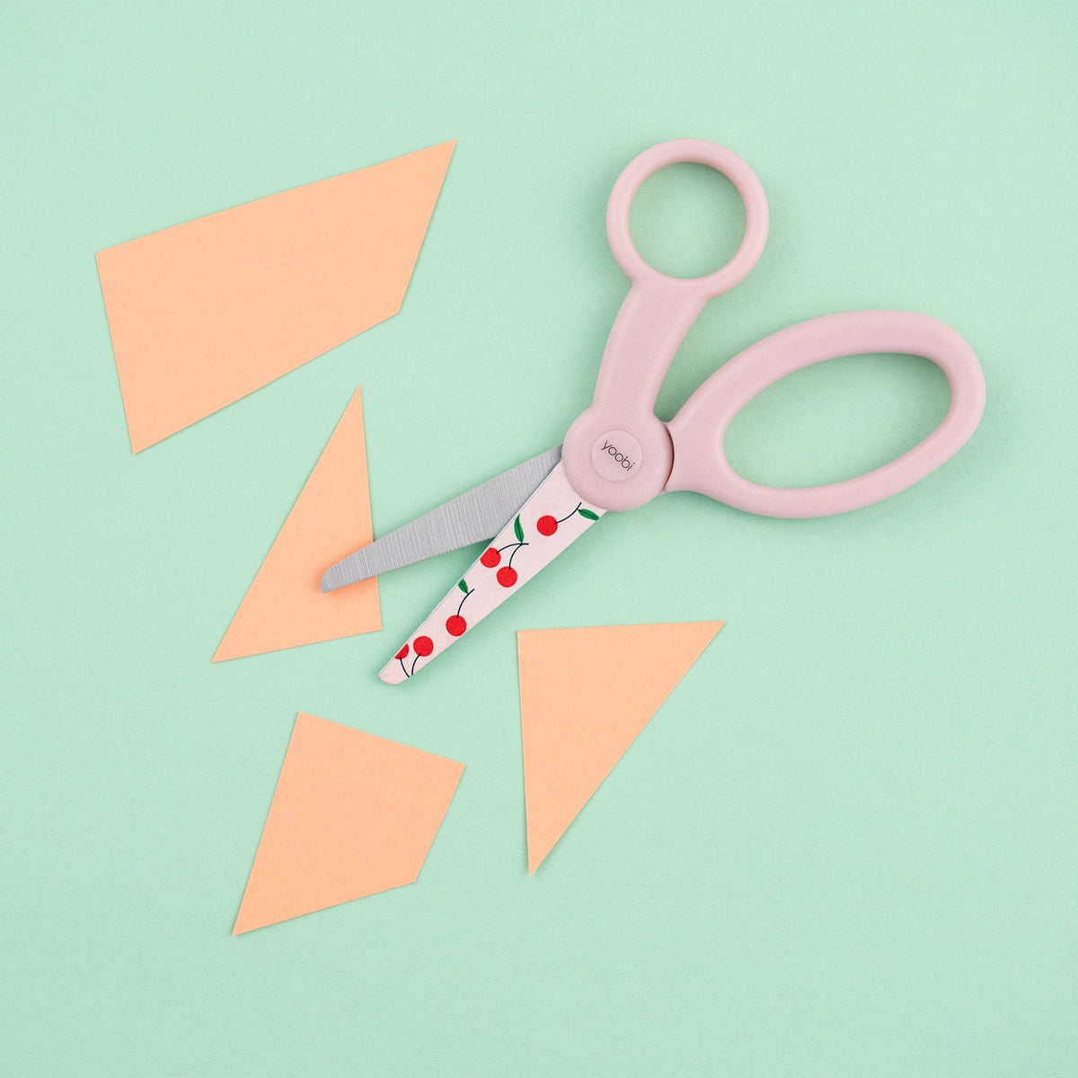 Kids Blunt Tip Scissors - Cherries