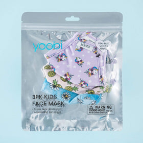 Face Masks for Kids, 3 pack