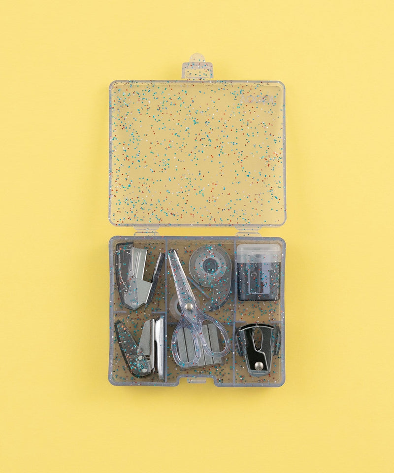 Mini Supply Kit - Deep Periwinkle Glitter