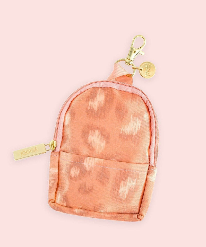 Mini Backpack Coin Purse - Cheetah