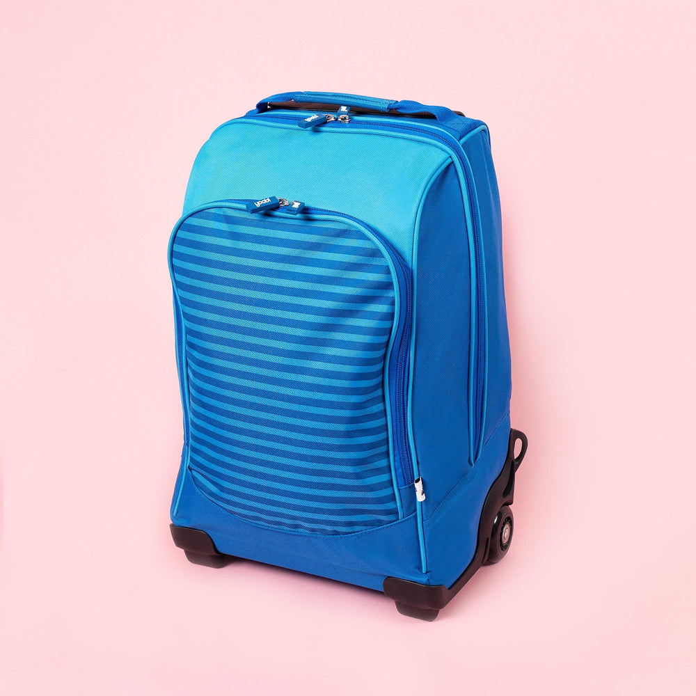 Trolley Backpack - Blue Stripe