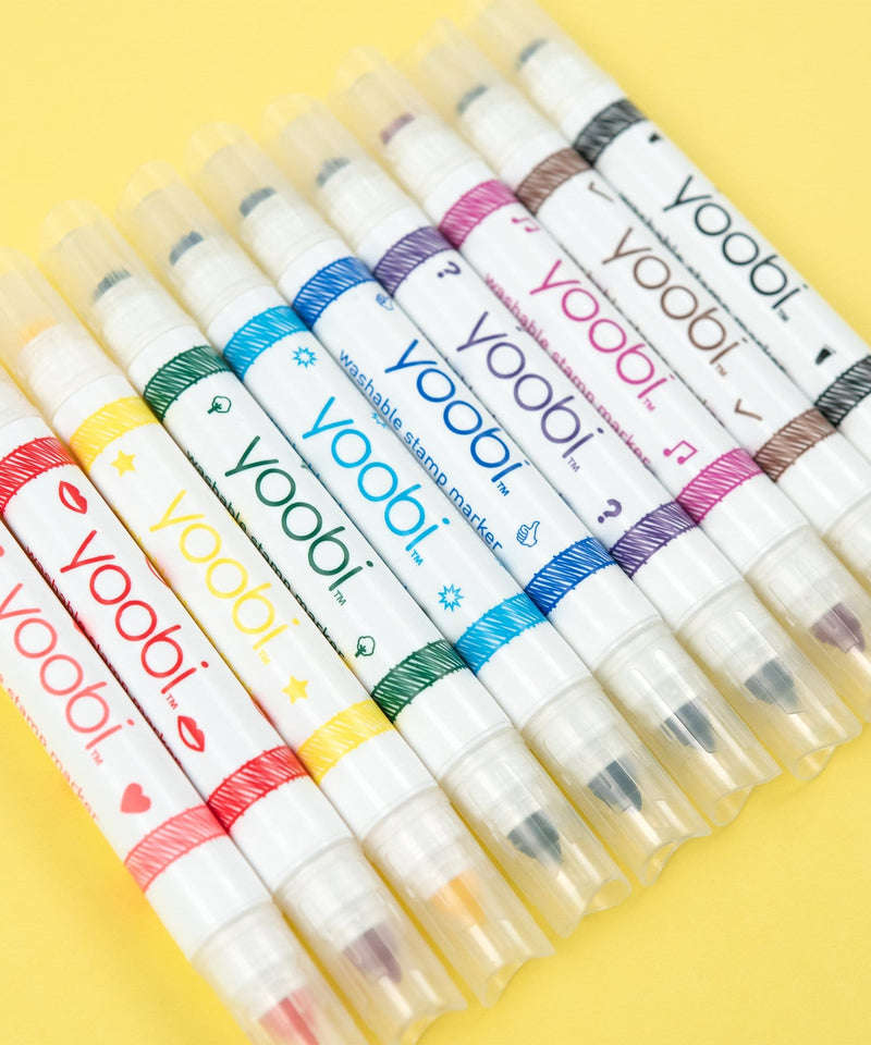 Washable Double-Ended Marker Stamps