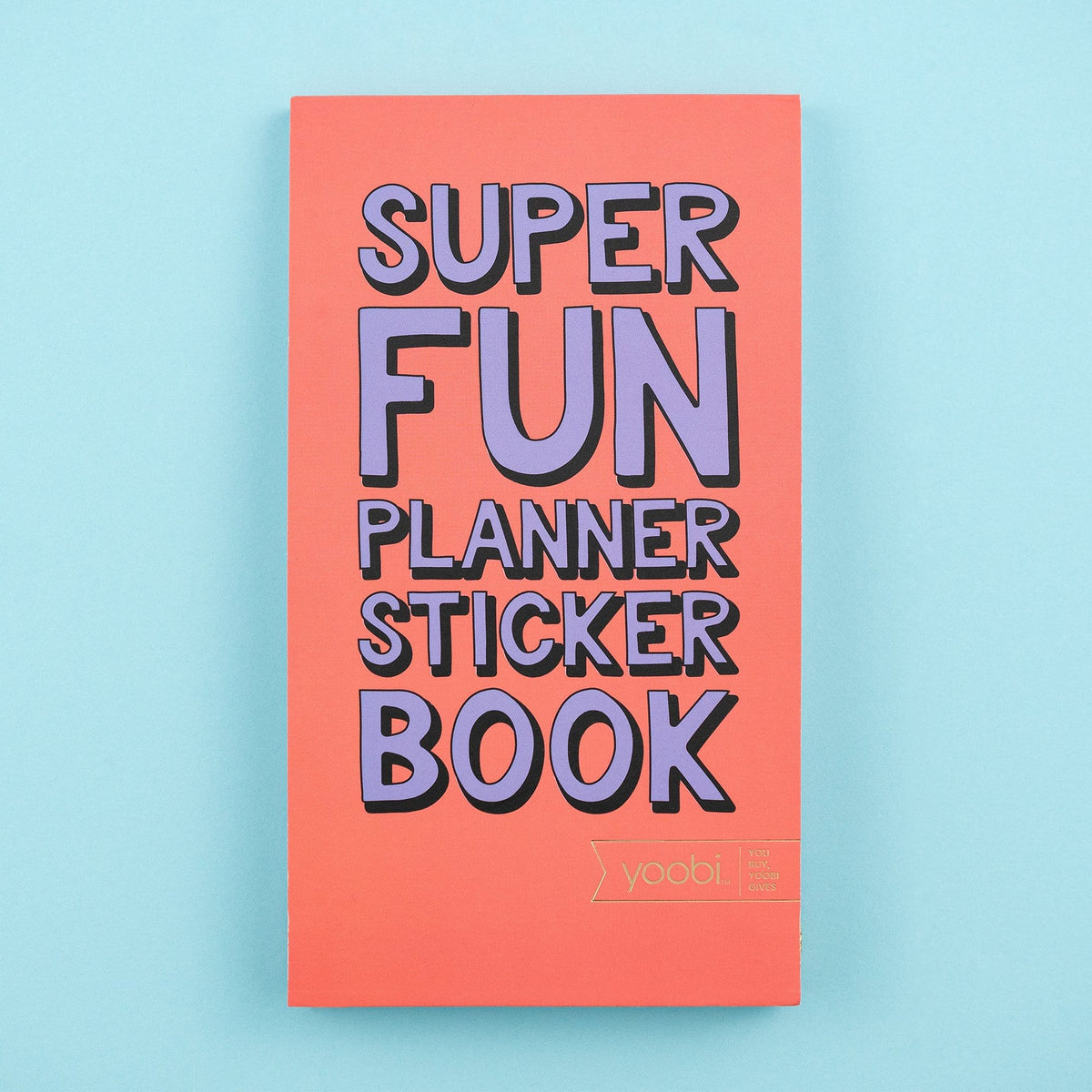 Planner Sticker Book - Dusty Coral