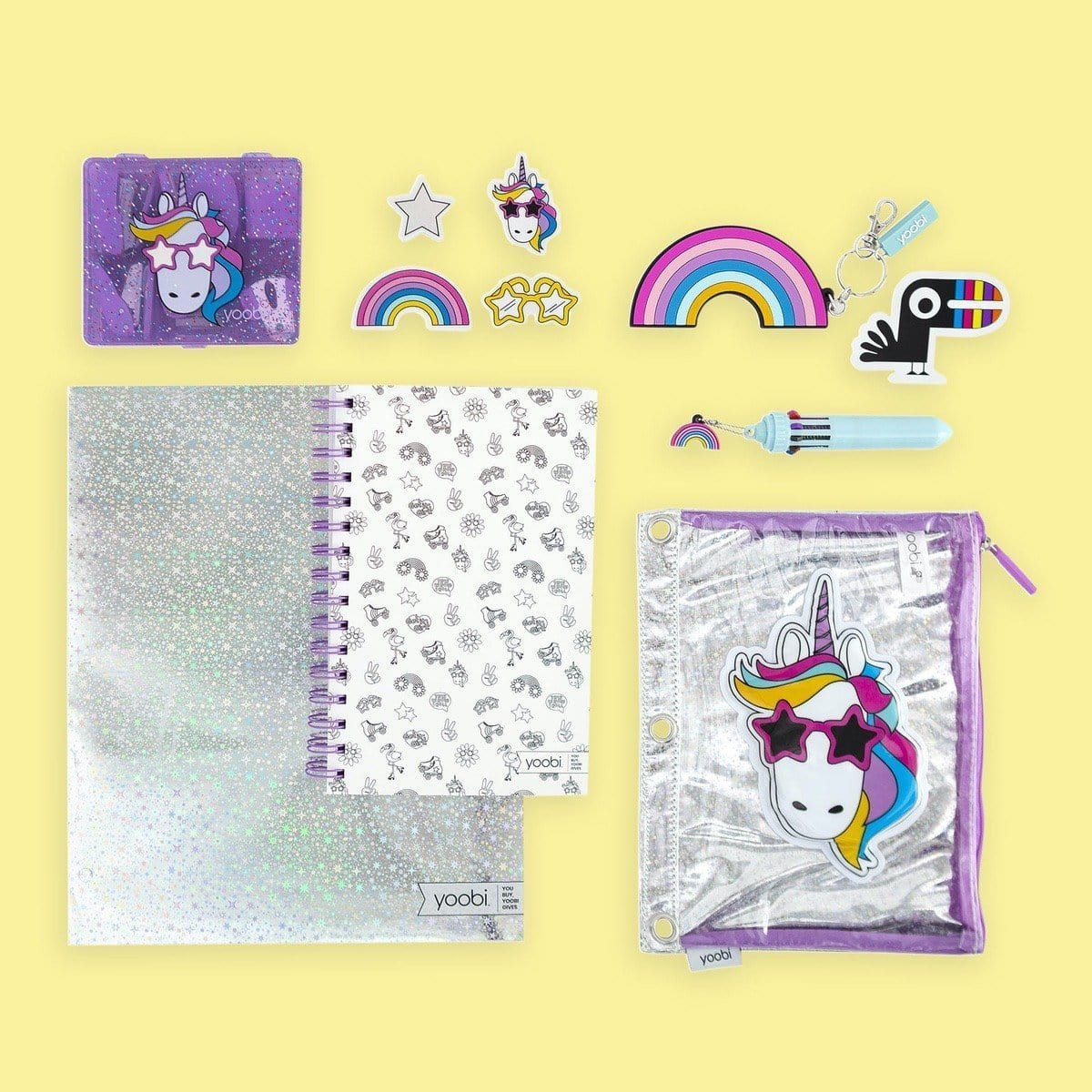 Unicorn School Supply Kit