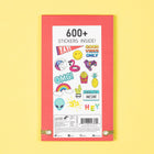 Sticker Booklet, 700+ stickers - Multicolor