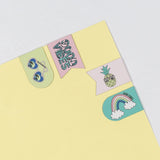 4 Pk Magnetic Bookmarks - Tropical