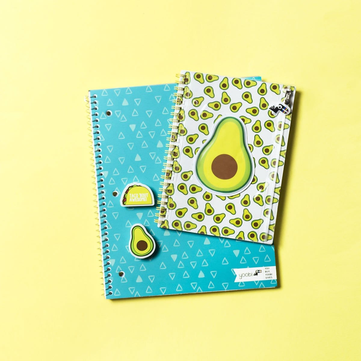 Spiral Notebook - Avocado