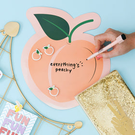 Peach Dry Erase Board Set