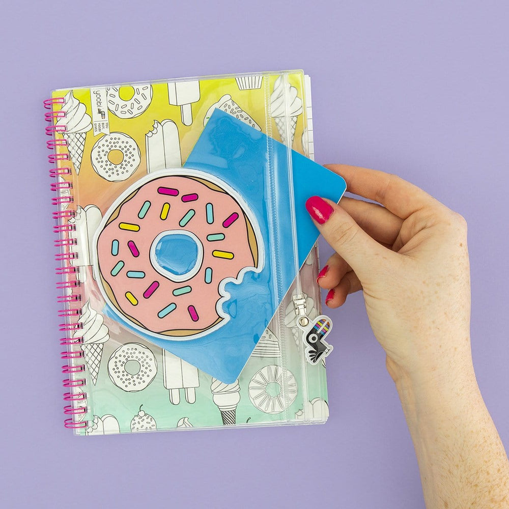 Spiral Notebook - Donut Ombre
