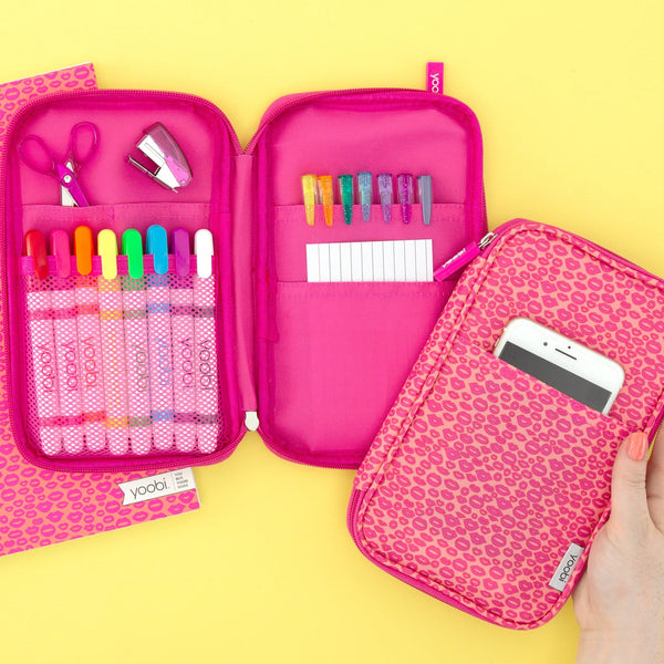 Pencil Organizer Pink Lips Yoobi