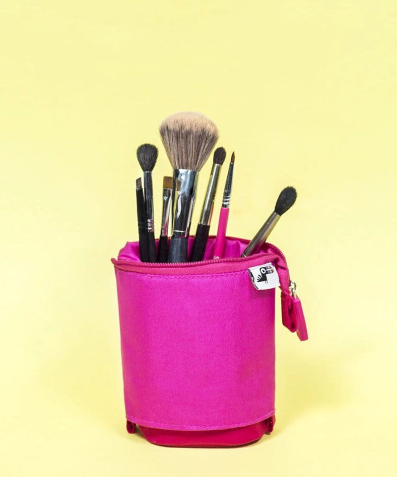 Standing Pencil Case - Pink
