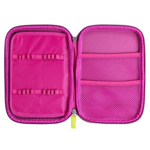 Large Molded Pencil Case - Pink