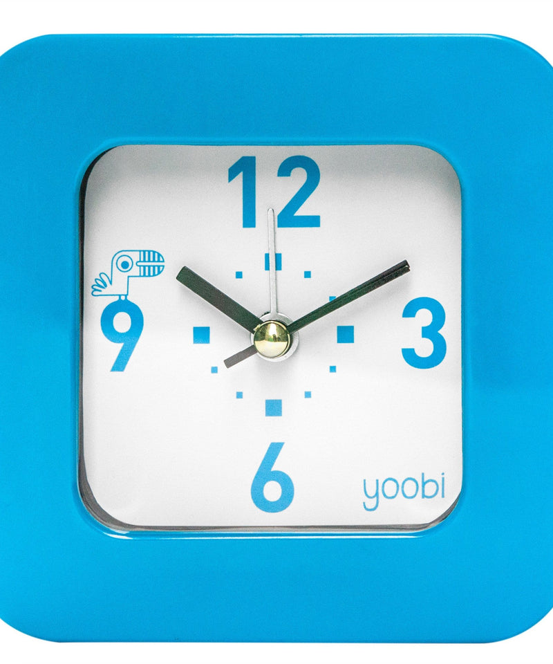 Square Clock - Blue
