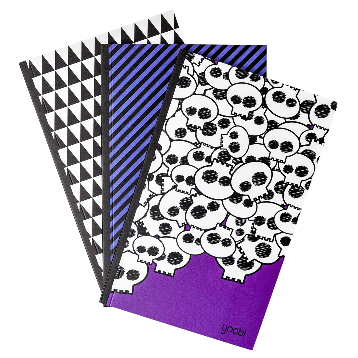 Printed Notebook, 3 Pack - Multicolor