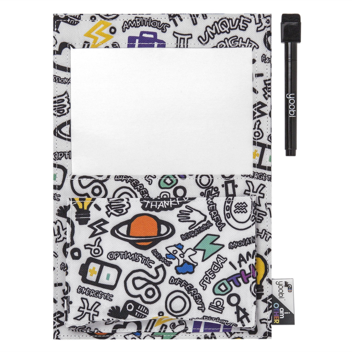 0f9ba6422 Yoobi x i am OTHER Magnetic Whiteboard Pocket - DIY Print