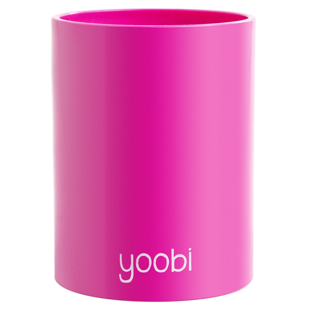 Solid Pen Cup - Pink
