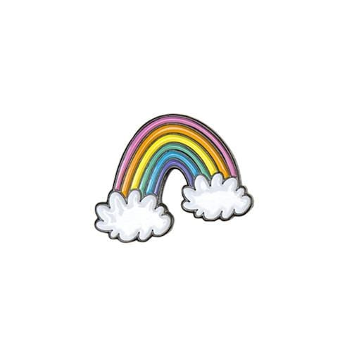 Rainbow Enamel Pin - Multicolor
