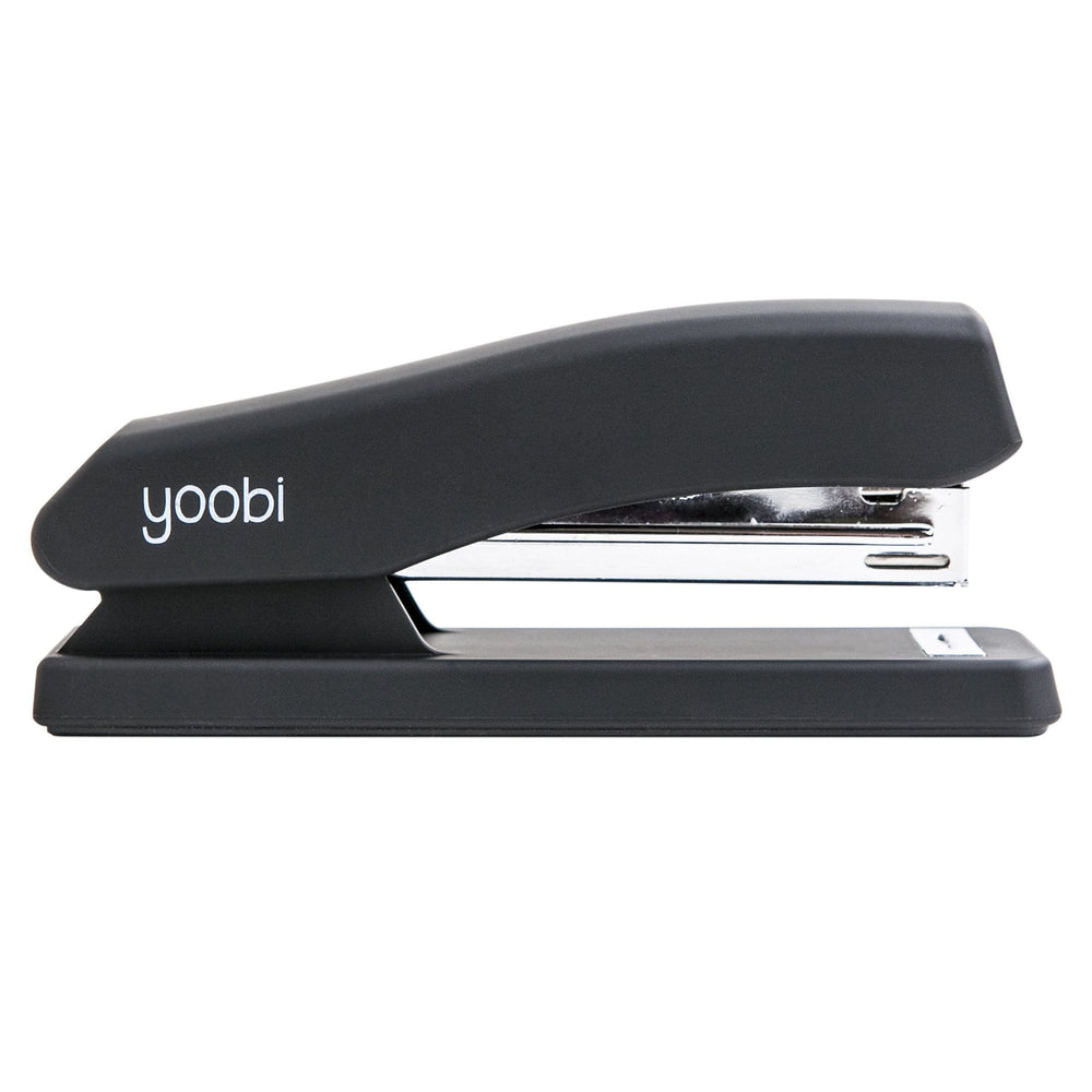 Soft Finish Stapler - Black