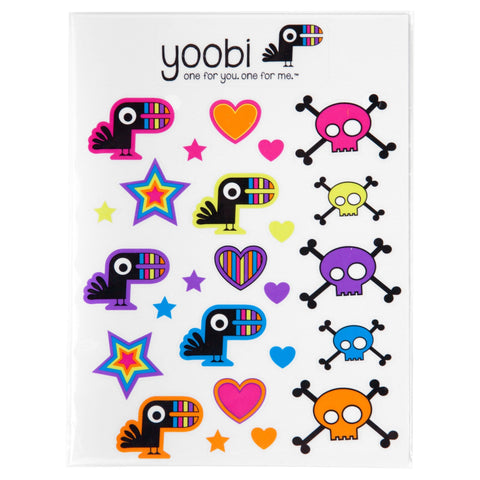 Yoobi Sticker, 4 Pack