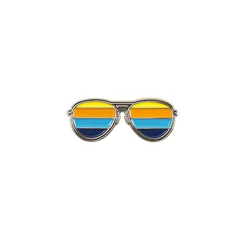 Sunglasses Enamel Pin - Multicolor