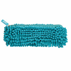 Fuzzy Pencil Case - Aqua
