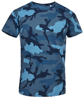 Personalised Camouflage Effect T-Shirt
