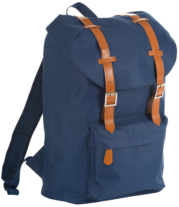 French Navy Hipster Retro Backpack