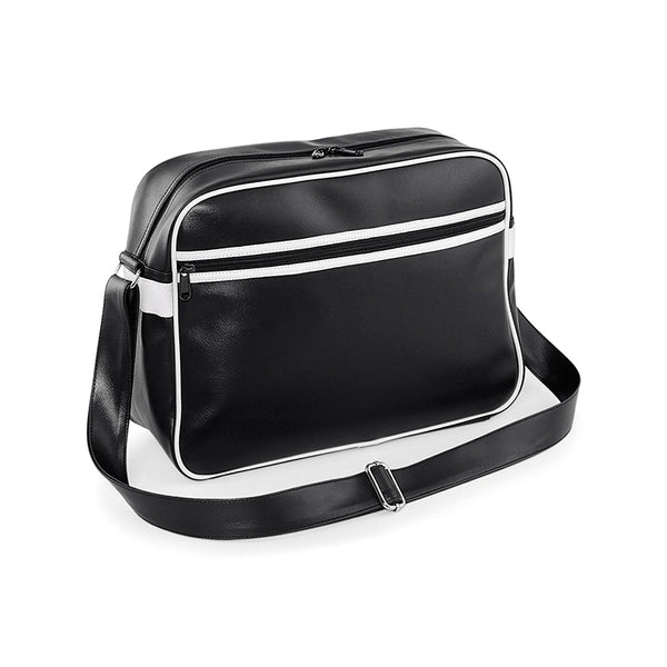 Black Original Style Retro Messenger Bag
