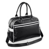 Black Original Style Retro Bowling Bag