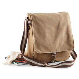 Vintage Style Canvas Messenger Bag
