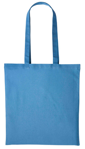 Customised Cotton shopper - long handle