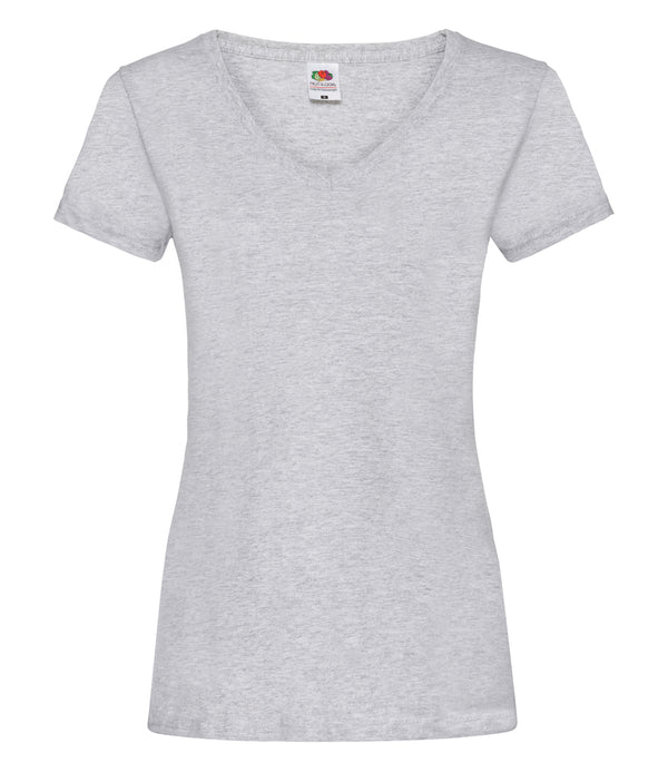 Ladies fit heather grey t-shirt