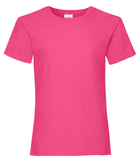 Personalised Girls Value T-Shirt
