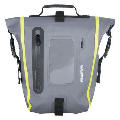 Oxford - Aqua M8 Tank Bag - Black / Black/Grey/Fluo / Khaki/Black