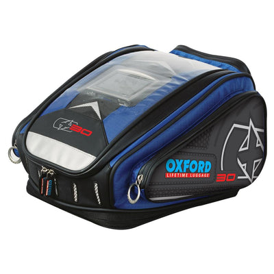Oxford - X30 QR TANK BAG - BLUE / RED