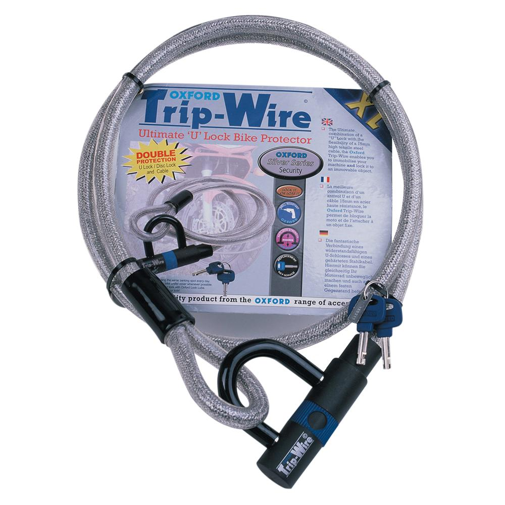 Oxford - Silver Trip Wire XL 15mm x 1.6mtr