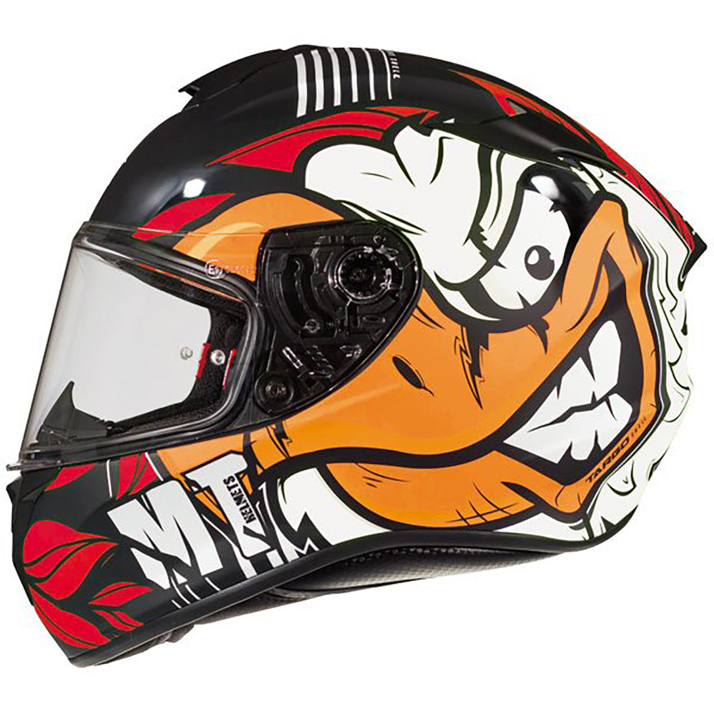 "MT Helmets Targo ""Truck"" Black/Red/White"
