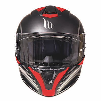 "MT Helmets Targo ""Doppler"" Matt Black/Red"