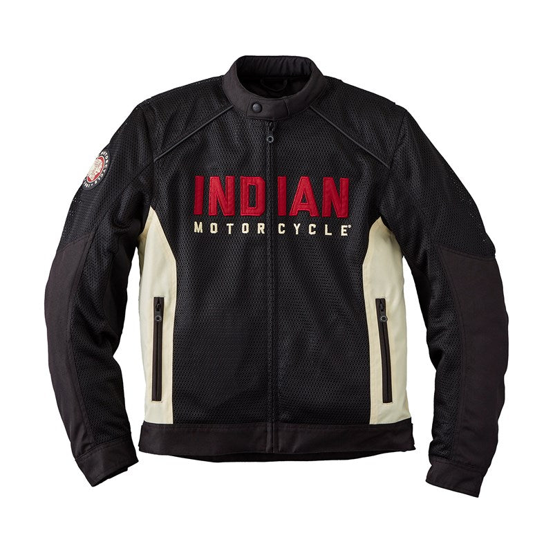 Indian Mens Lightweight Mesh 2 Jacket - Black