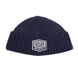 Indian Shield Patch Beanie - Black