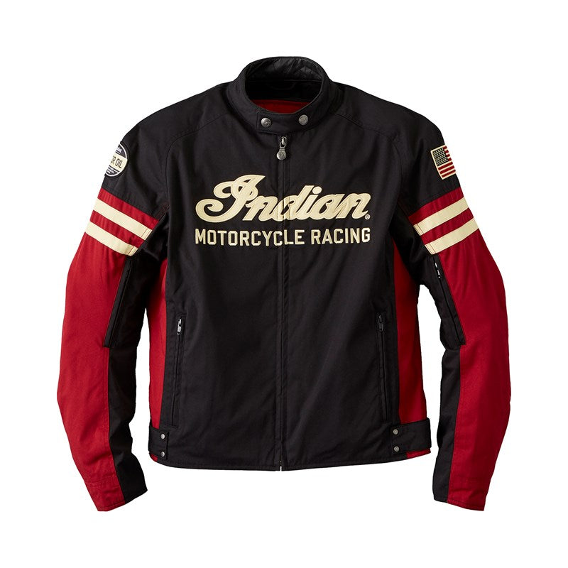 Indian Mens Flat Track Jacket - Black