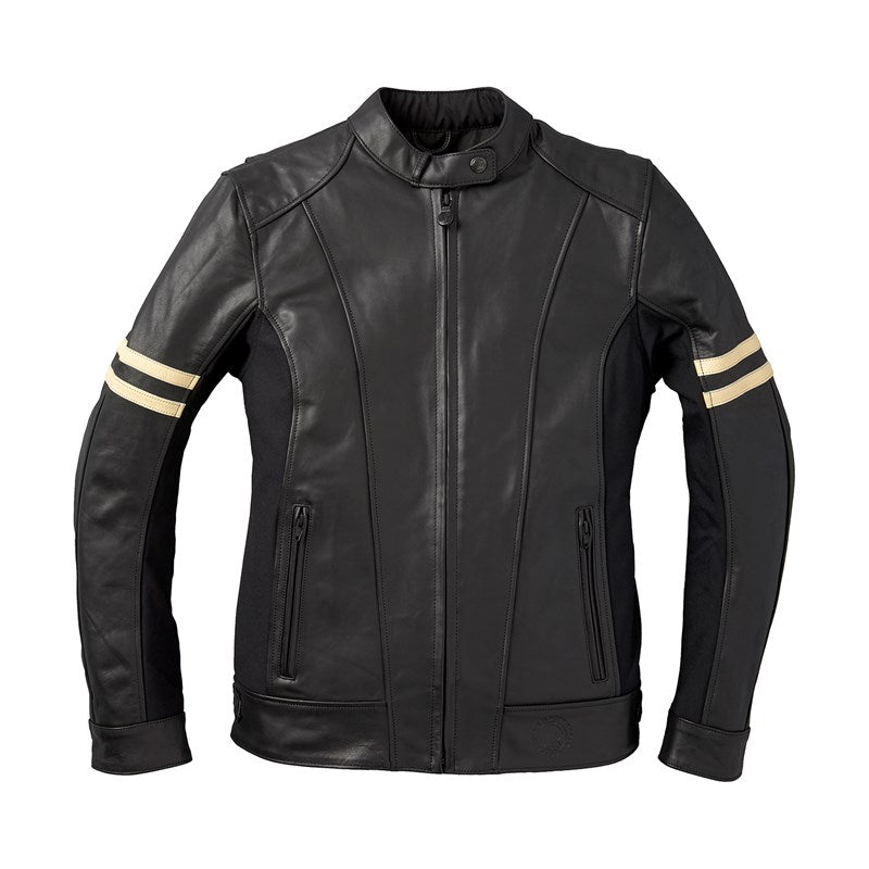 Indian Ladies Blake Leather Jacket - Black
