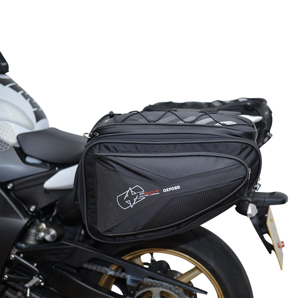Oxford - P60R PANNIERS - BLACK