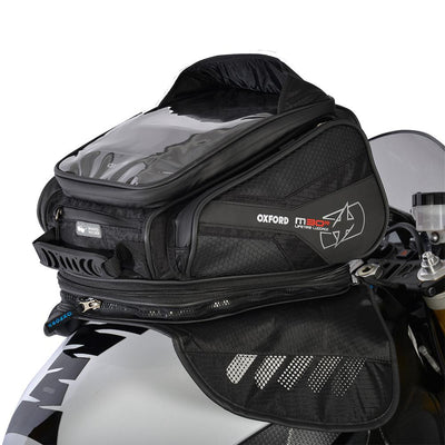 Oxford - M30R TANK BAG - BLACK / BLUE / RED