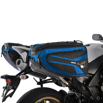 Oxford - P50R PANNIERS - BLACK / BLUE / RED