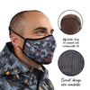 Spada Face Mask - Camo Design - Medium / Large