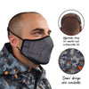 Spada Face Mask - Circuit Design - Medium / Large